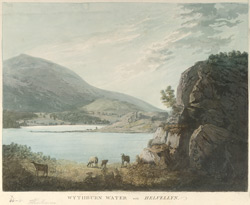 Wythburn Water with Helvelyn